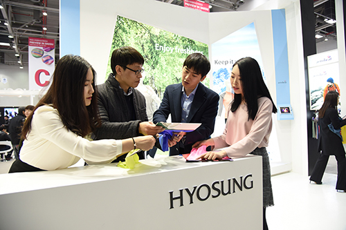 Hyosung, Participating in International Textile Fair in Daegu with 10 partners