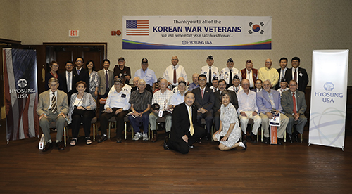 Hyosung, Hold Celebratory Event with Korean War Veterans in US