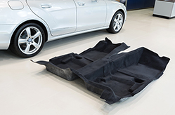 Hyosung is now supplying automotive carpet yarn to Lexus luxury sedans for the first time
