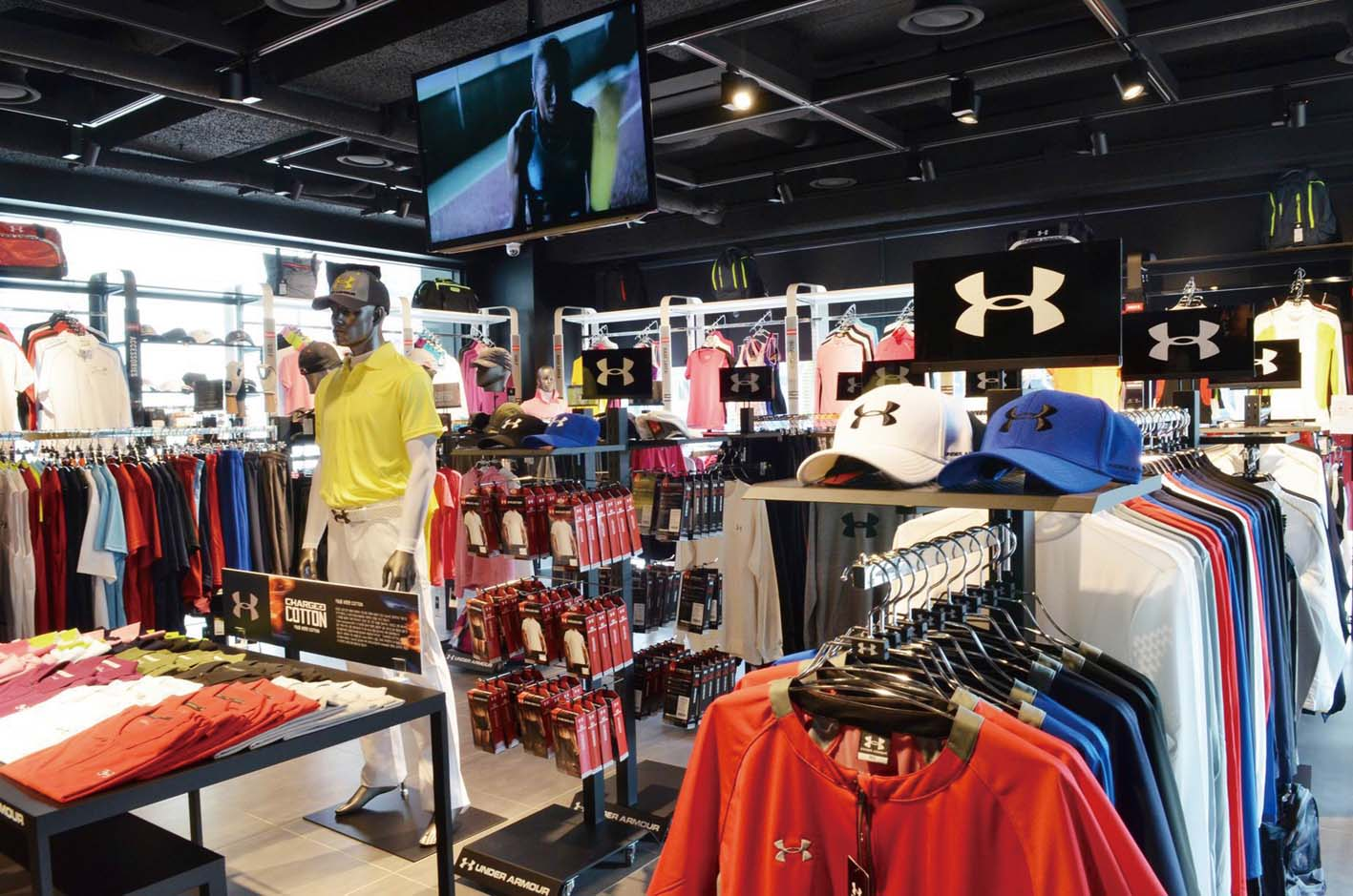 8b47c7d2636d Under Armour opened a directly managed shop in Gangnam